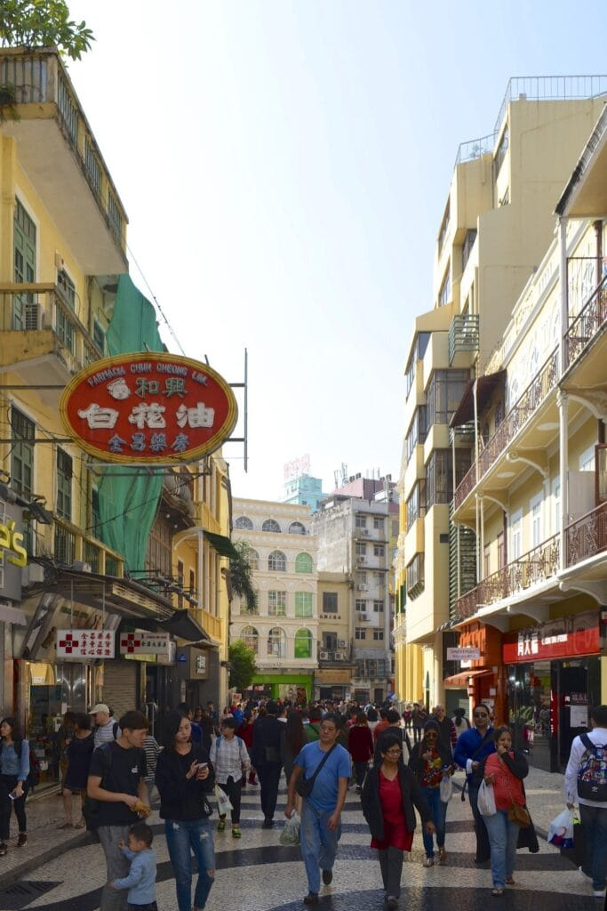 Macao historisches Zentrum