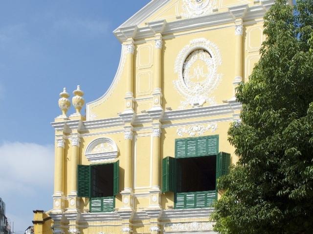 Dominikaner Kirche Macao