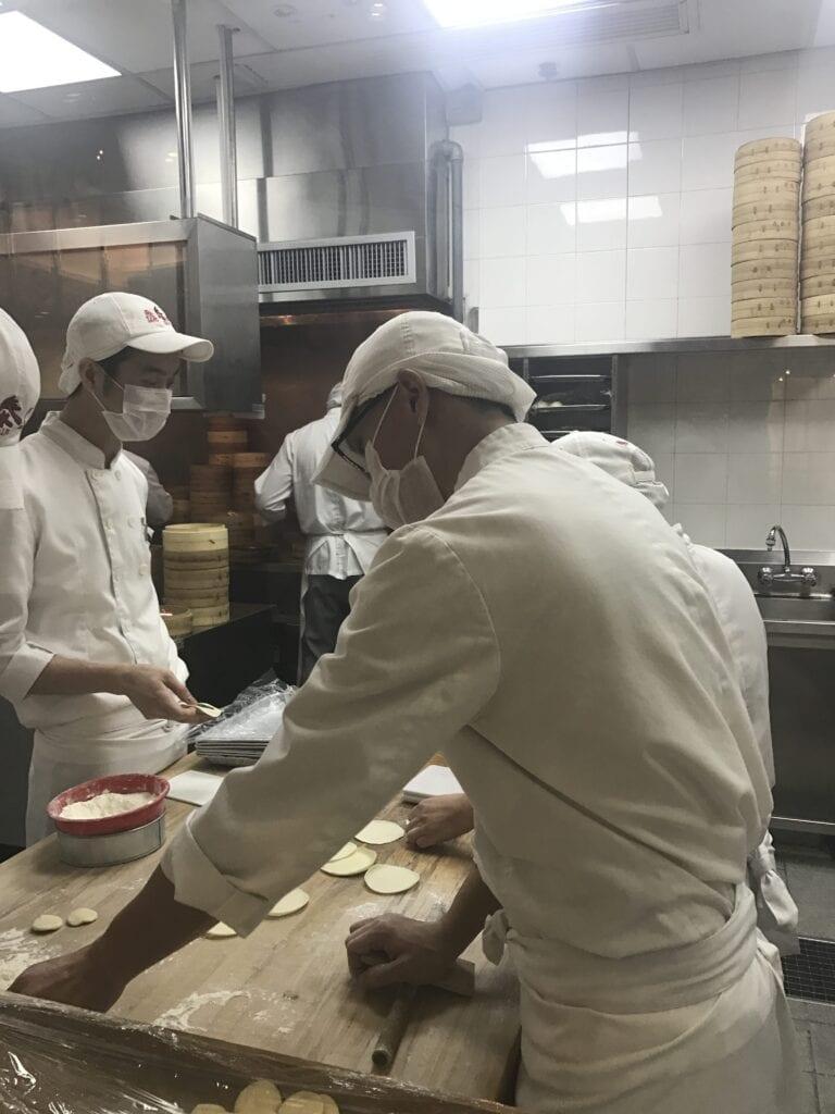 Küche im Ding Tai Fung Hongkong