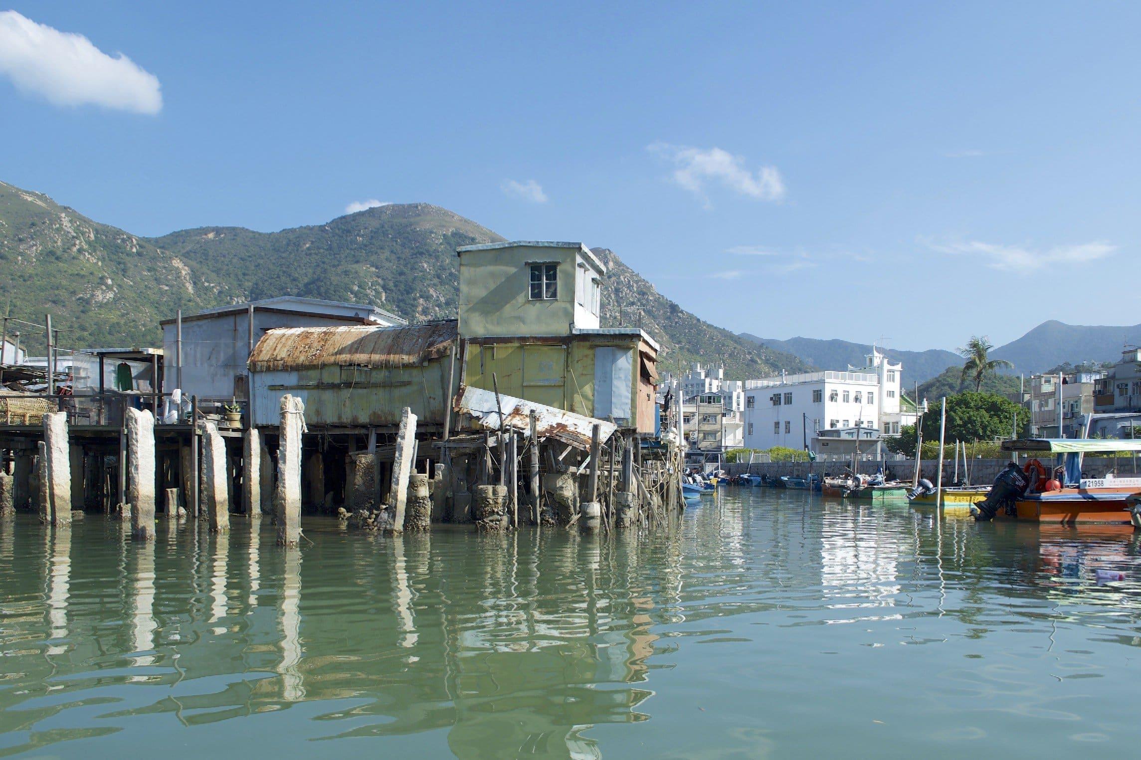 Fischerdorf O Tai auf Lantau (Hongkong)