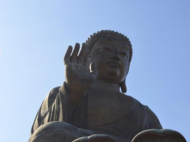 Hongkong Big Buddha auf Lantau
