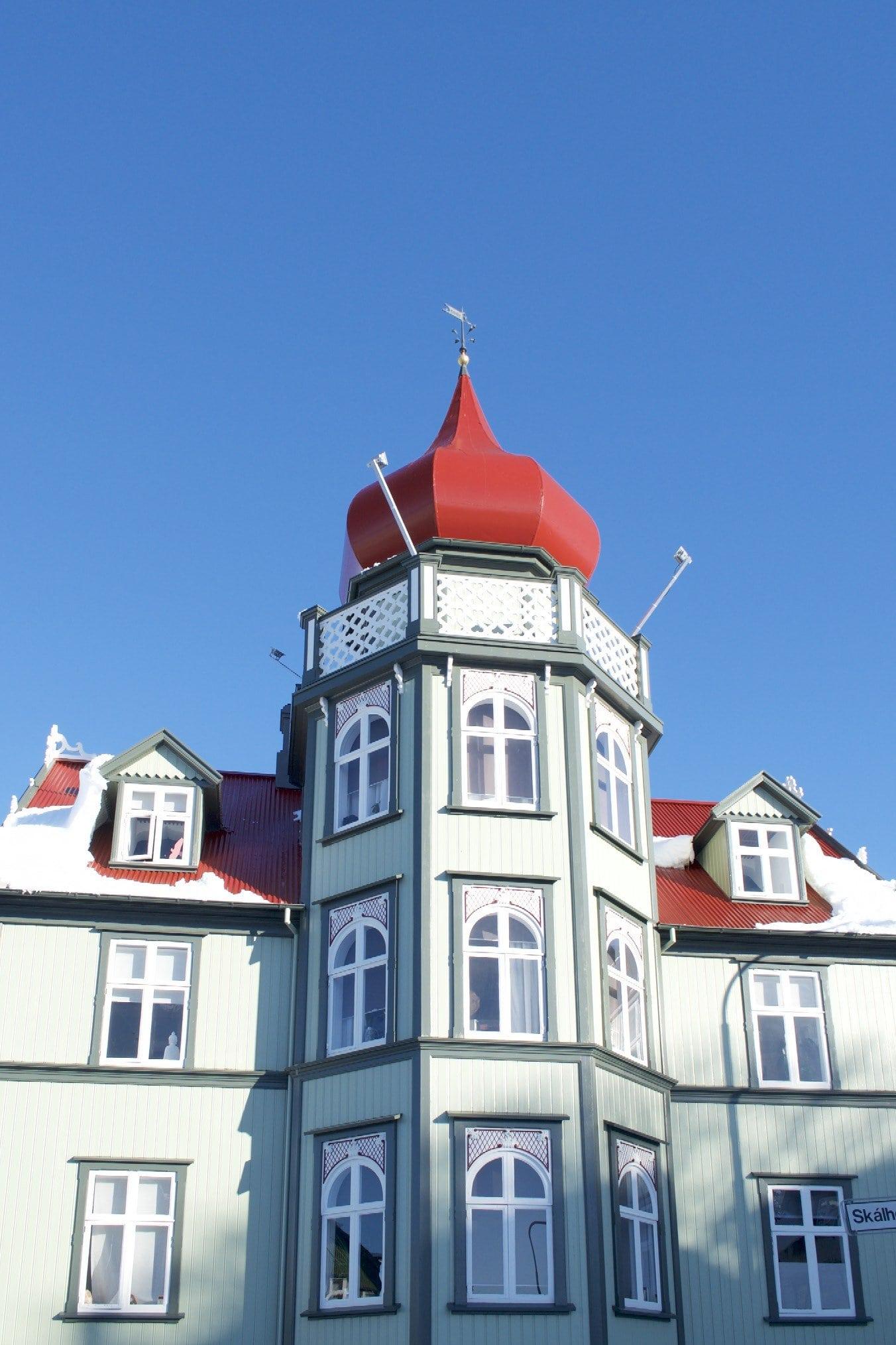 Villa an der Skalholtsstigur in Reykjavik