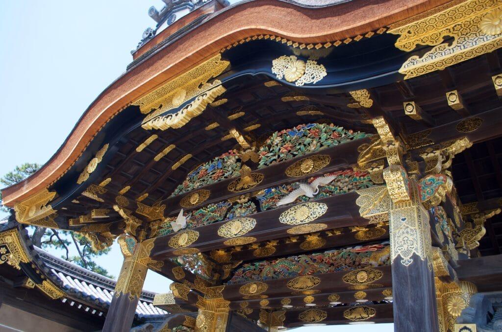 Kyoto Tor in Nijo-Jo