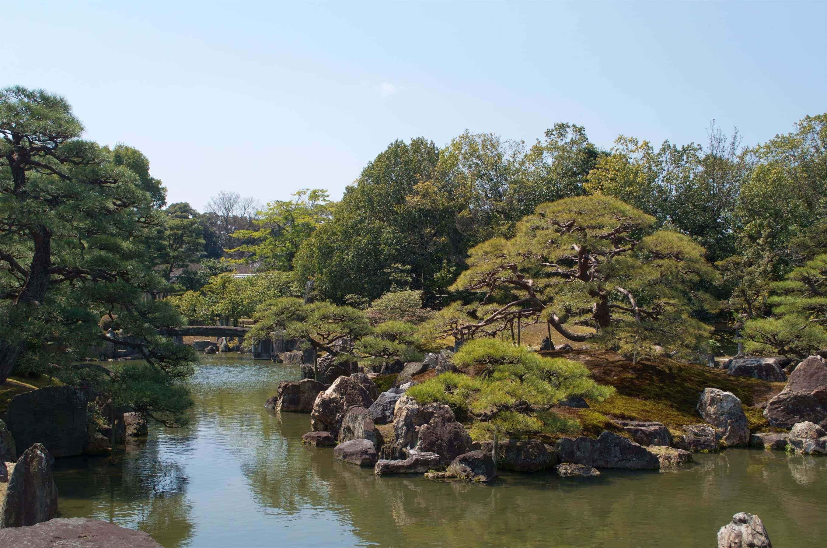 Kyoto Garten Nijo-Jo
