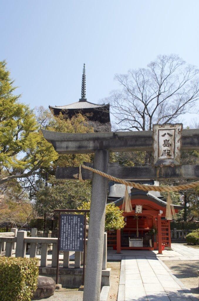 Kyoto Schrein im Tō-ji Tempel