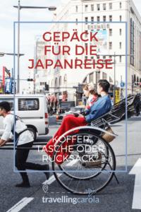Gepäck für die Japanreise