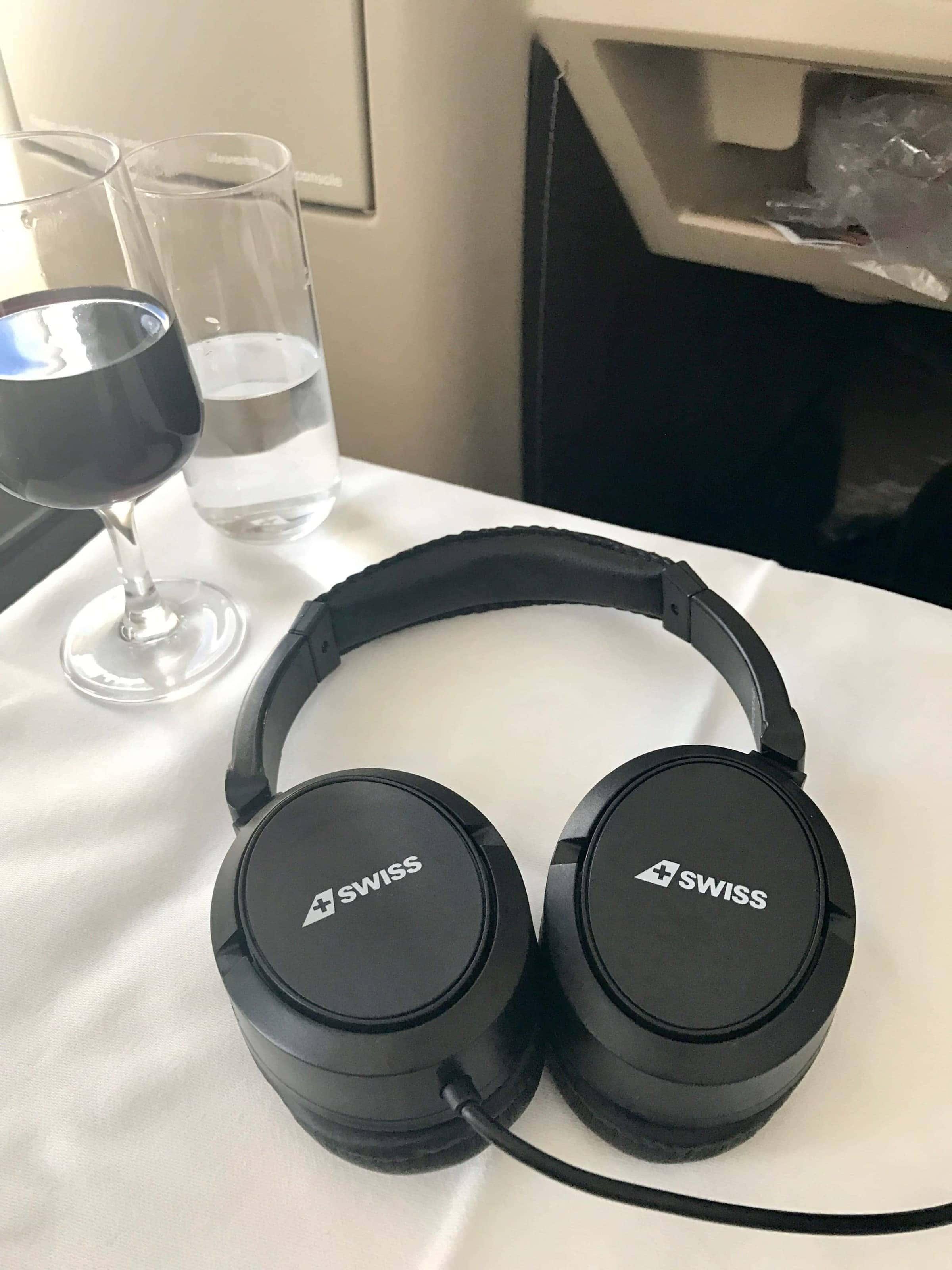 Kopfhörer SWISS Business Class
