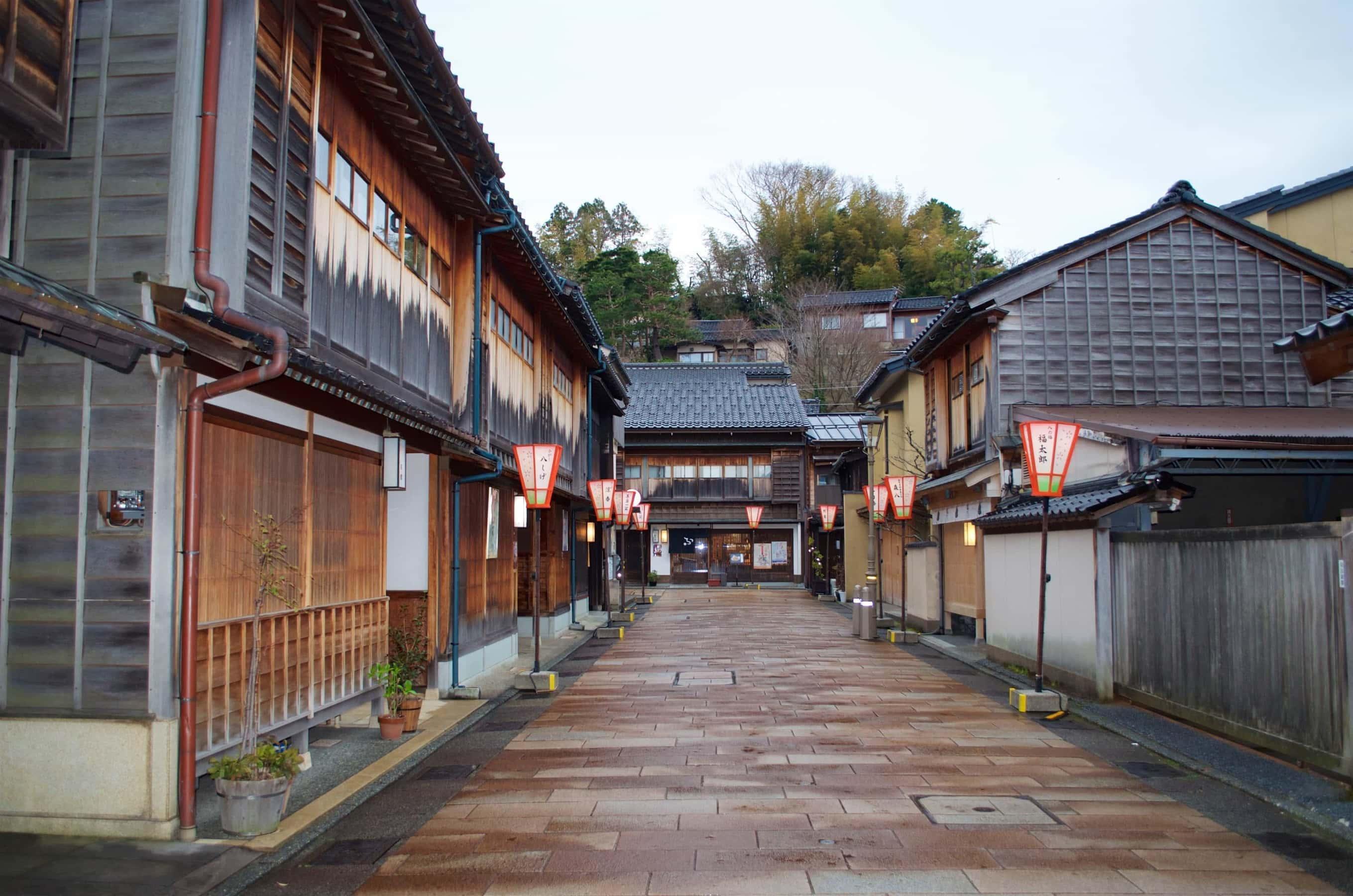 Higashi Chaya Districts in Kanazawa
