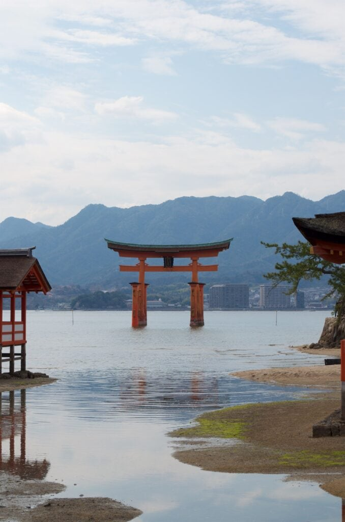 Tori auf Miyajima Hiroshima