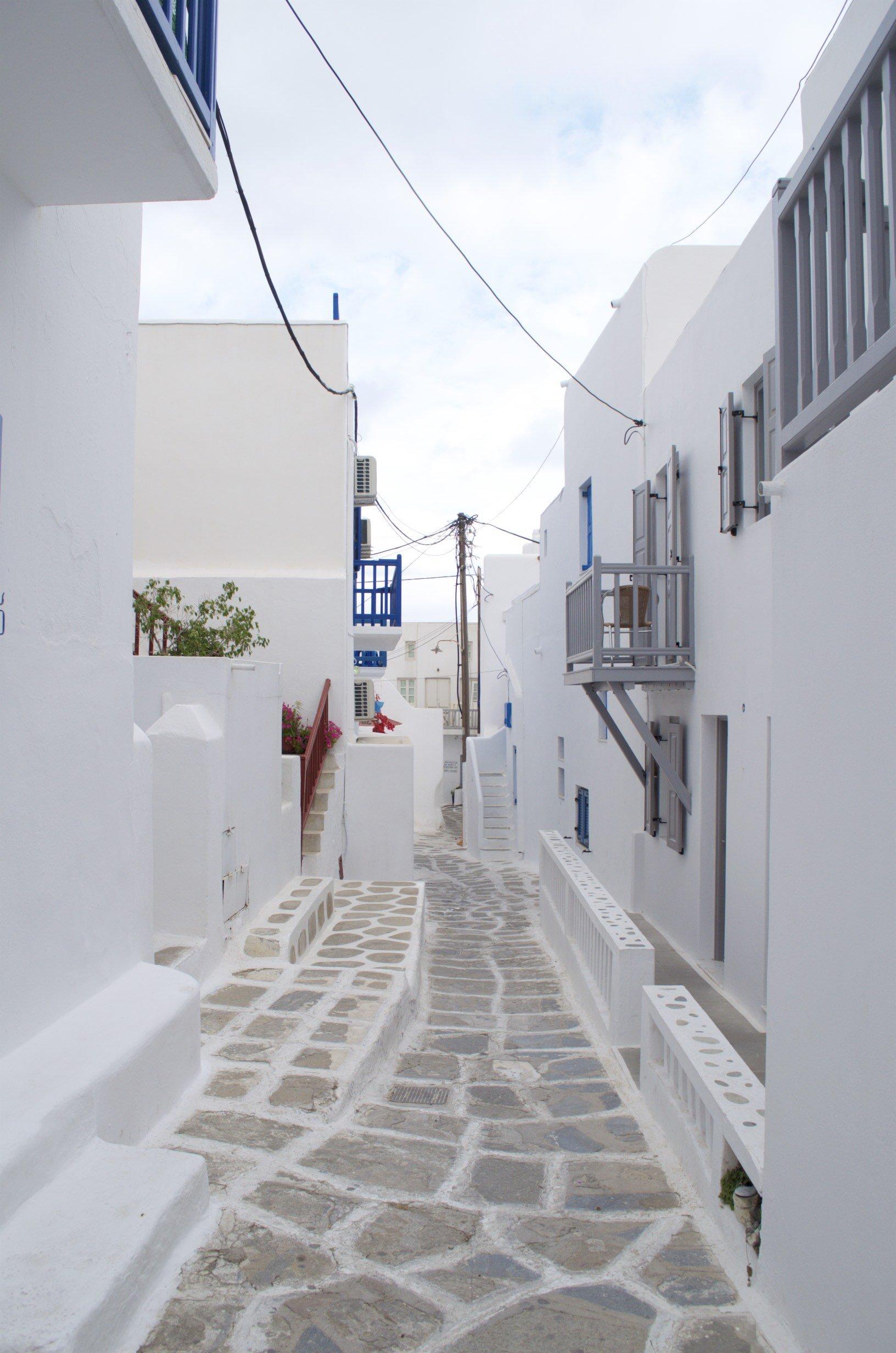 Gassen von Mykonos