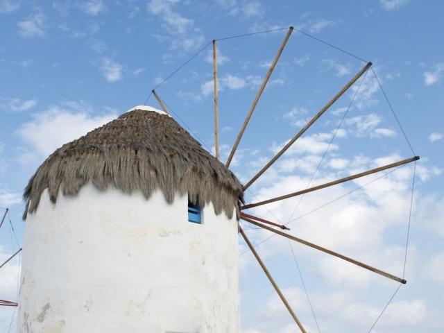 eine der Windmühlen von Mykonos