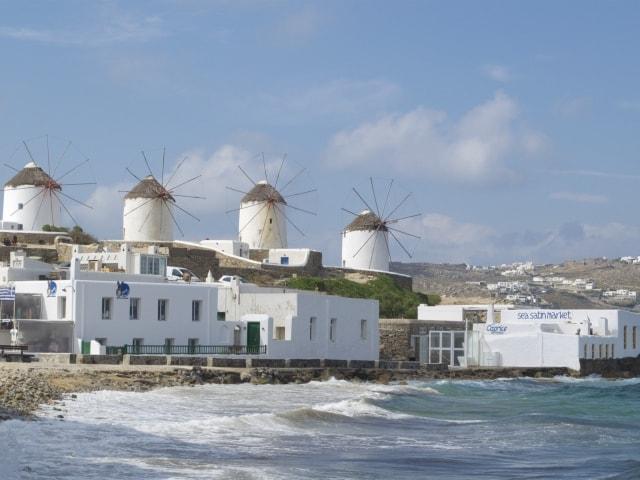 Kato Mili: Windmühlen von Mykonos