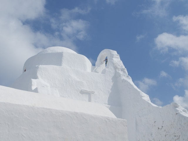 Kirche Panagia Paraportiani in Mykonos