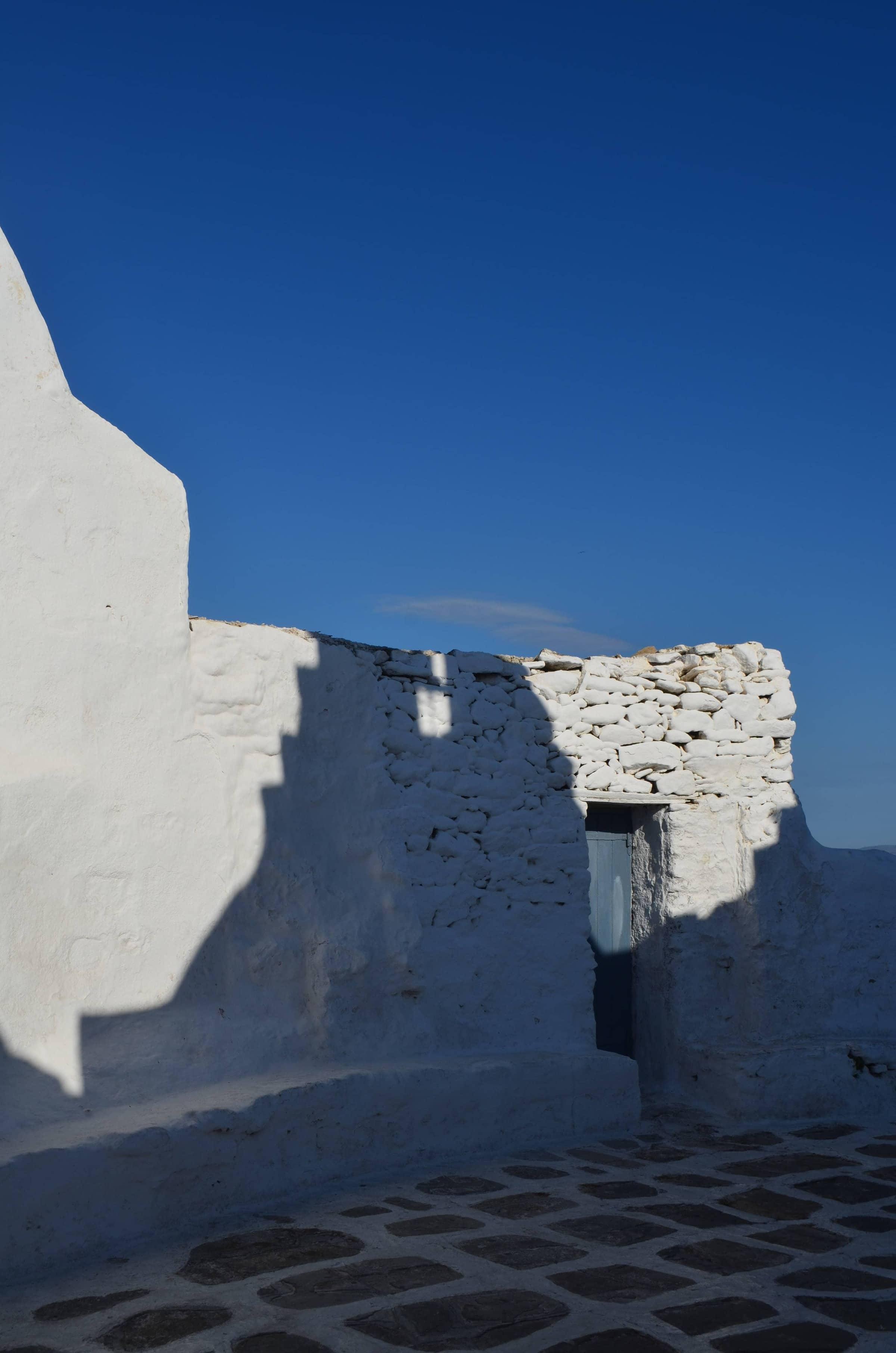 das Kastro-Viertel in Mykonos