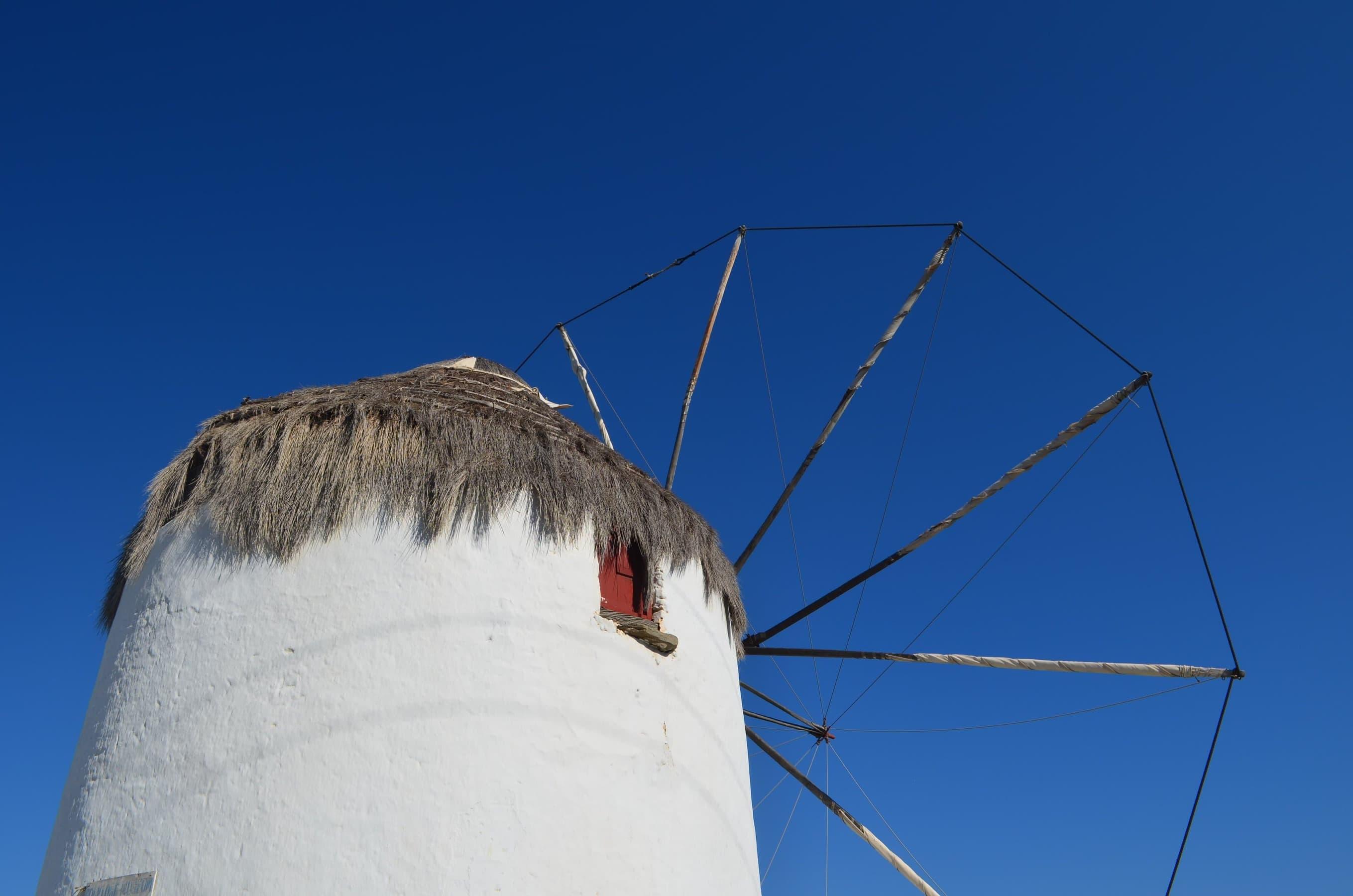 die Bonis Windmühle in Mykonos