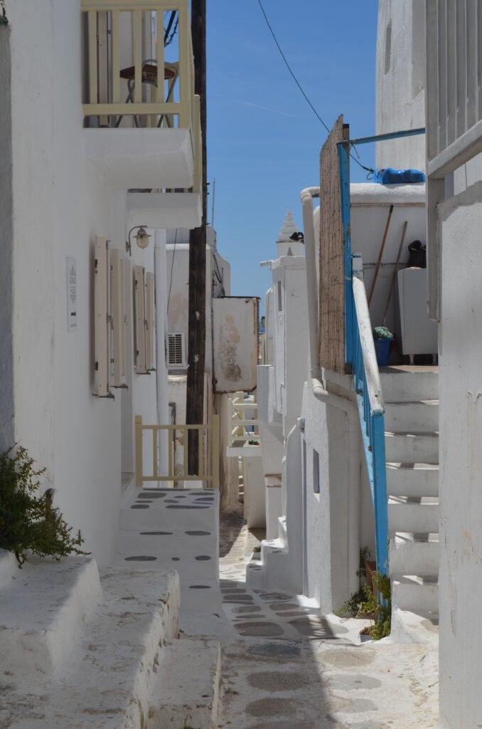 Mykonos nahe der Bonis Windmühle