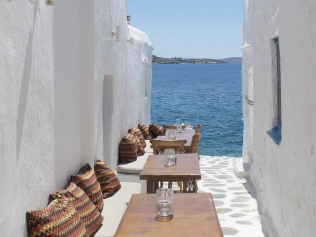 Kastro's Restaurant in Mykonos
