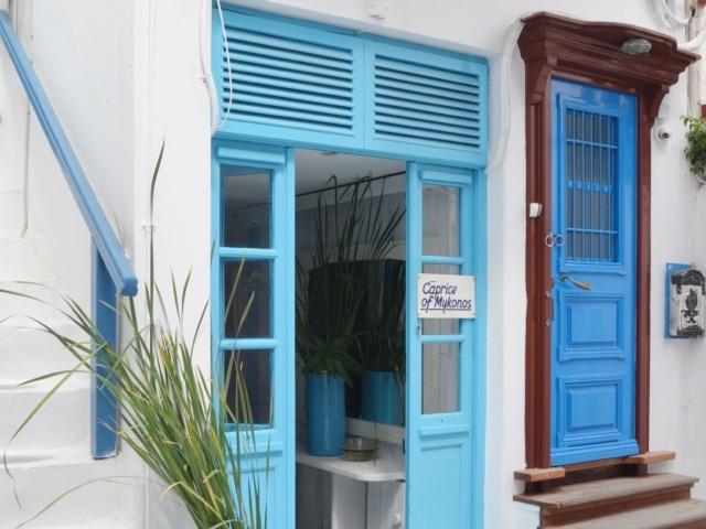 Geschäfte in den Gassen um Klein Venedig