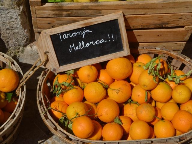 Orangen in Valldemossa