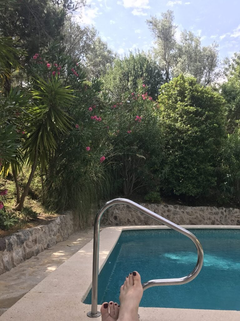 Pool der Finca Canpoma