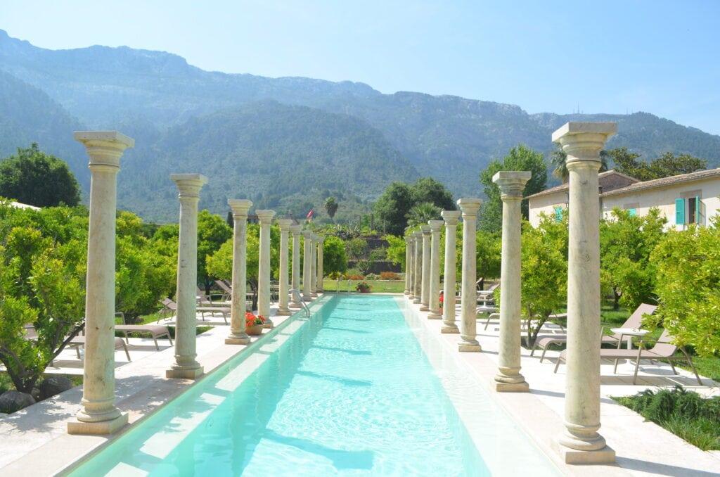 Pool der Finca Cas Sant