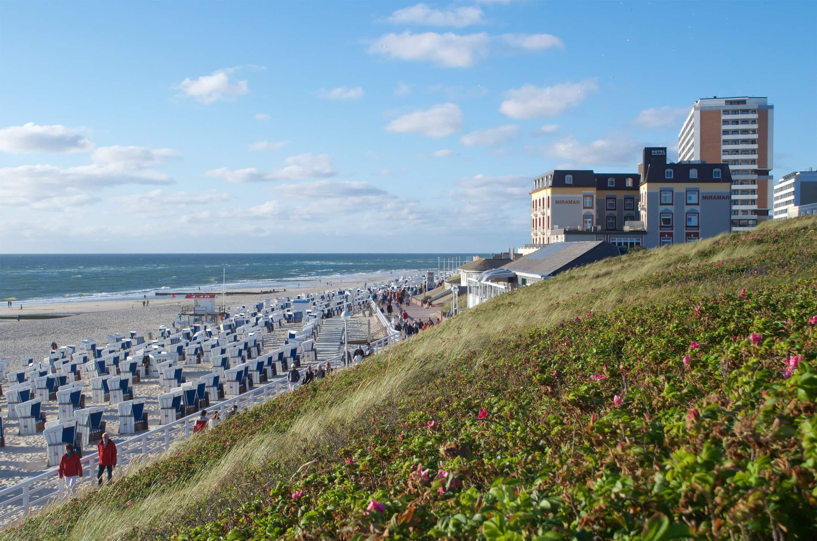 Strand von Westerland Sylt