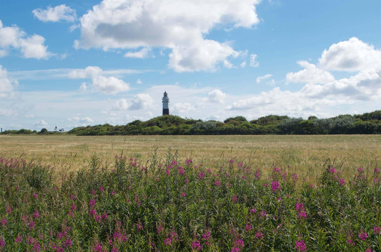Leuchtturm bei Wenningstedt Sylt
