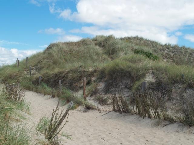 Nördlichster Punkt von Sylt, Strand am Ellenbogen