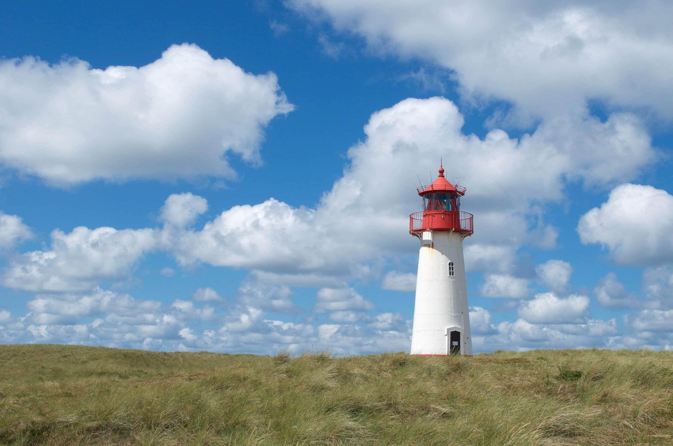 Leuchtturm List Ost am Ellenbogen auf Sylt