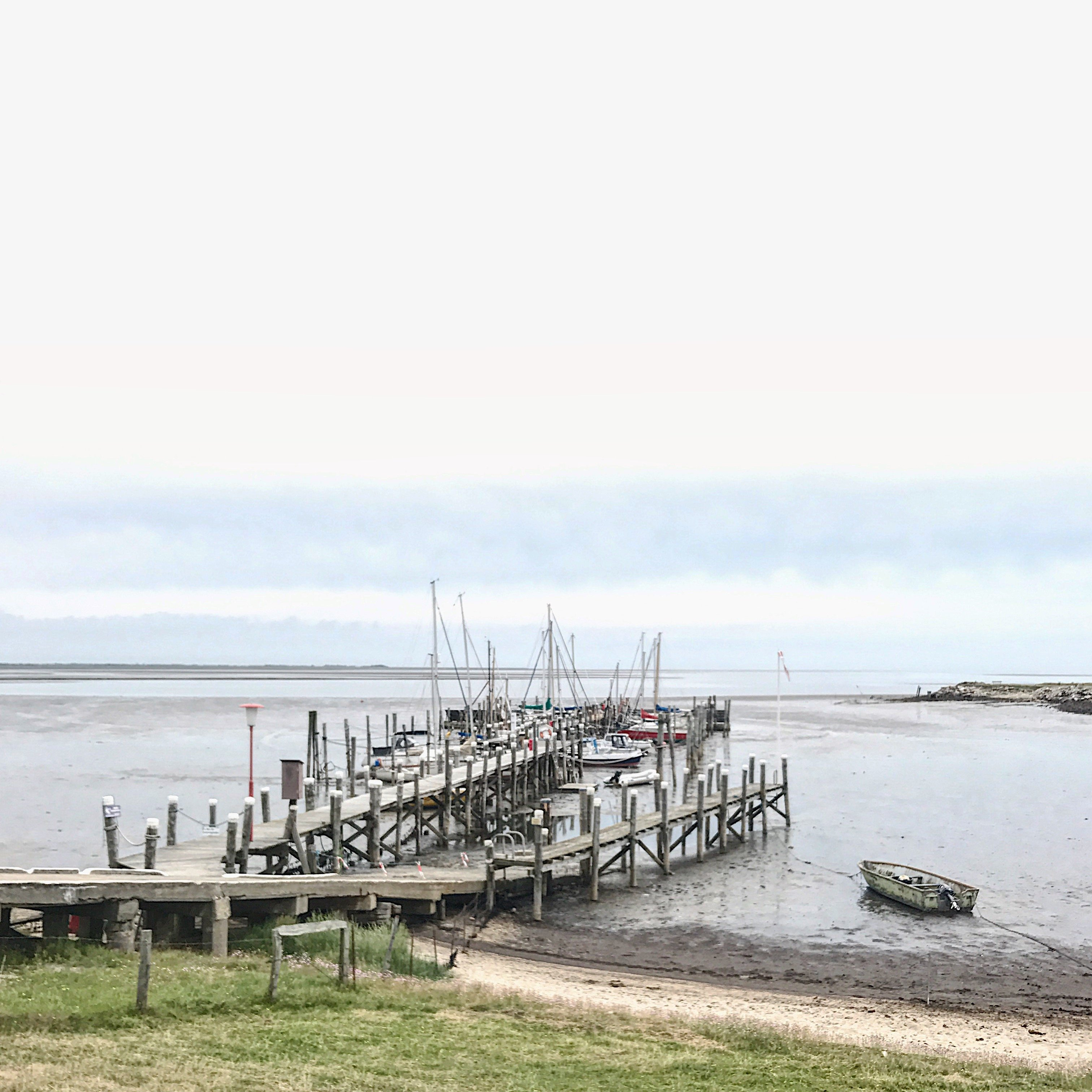 Hafen in der Rantumer Bucht