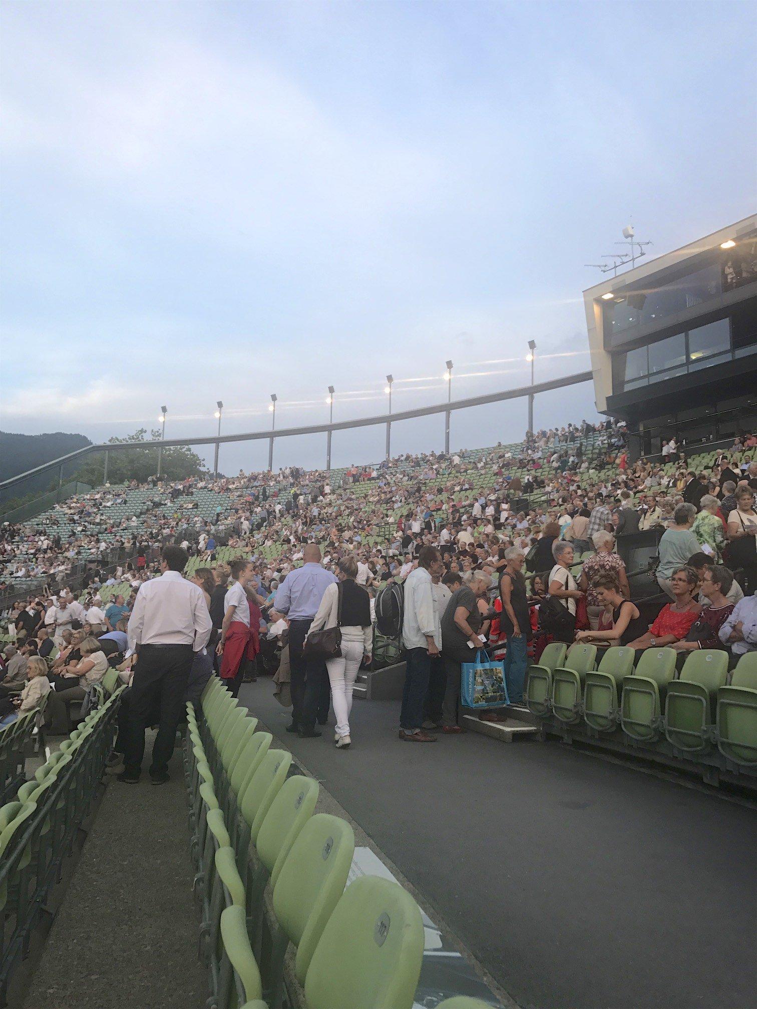 Seebühne Bregenz: verschiedene Kategorien