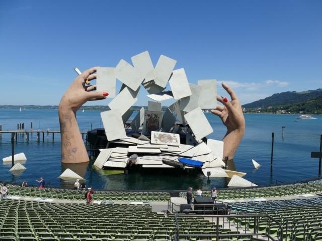 Seebühne in Bregenz Carmen