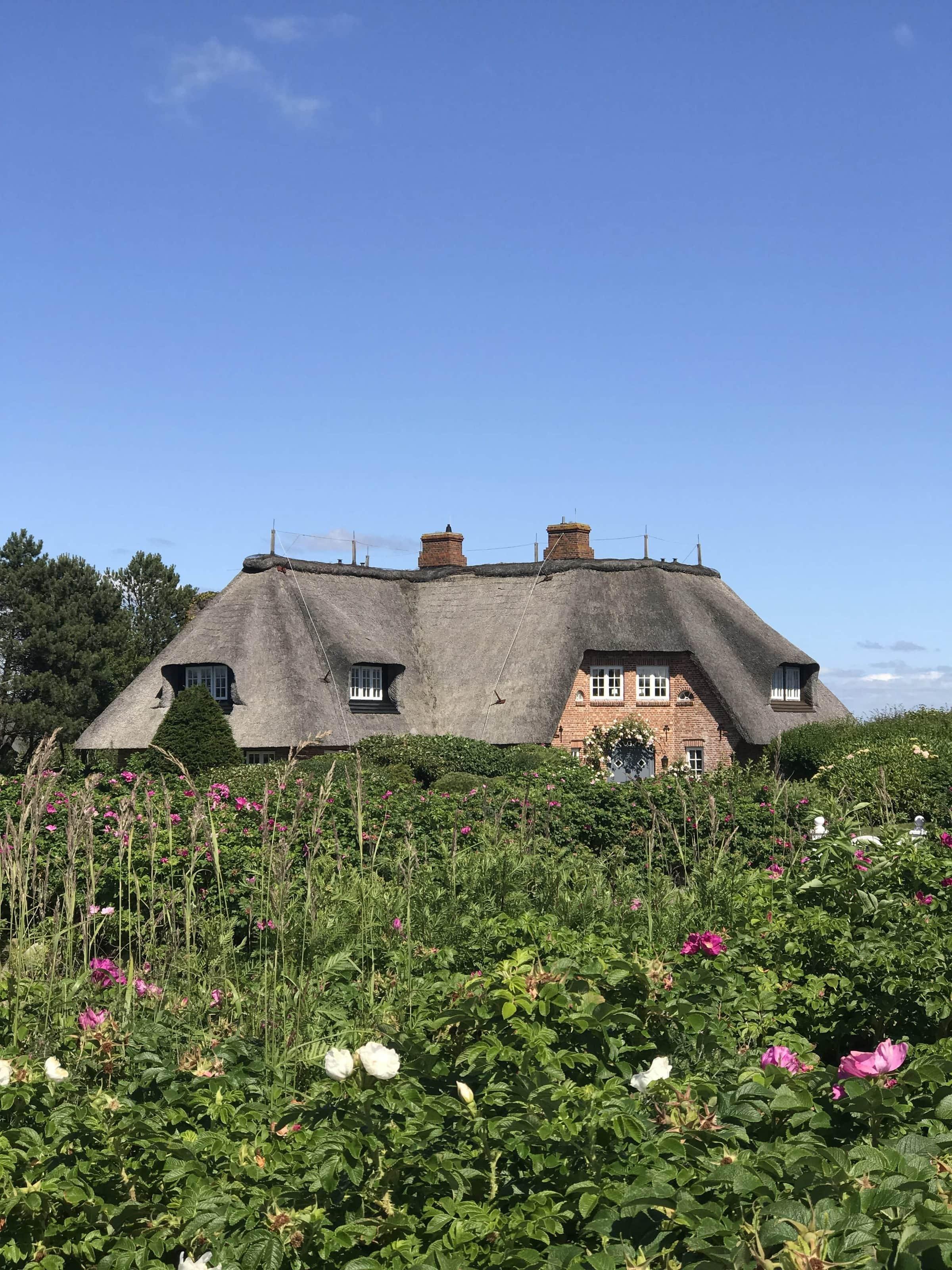 Haus mit Reetdach in Kampen