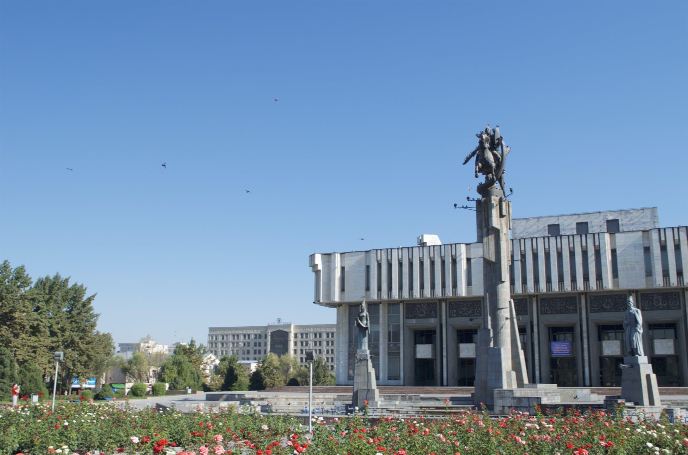 Manas-Statue Bischkek