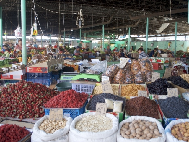 Markt Bischkek Kirgisistan
