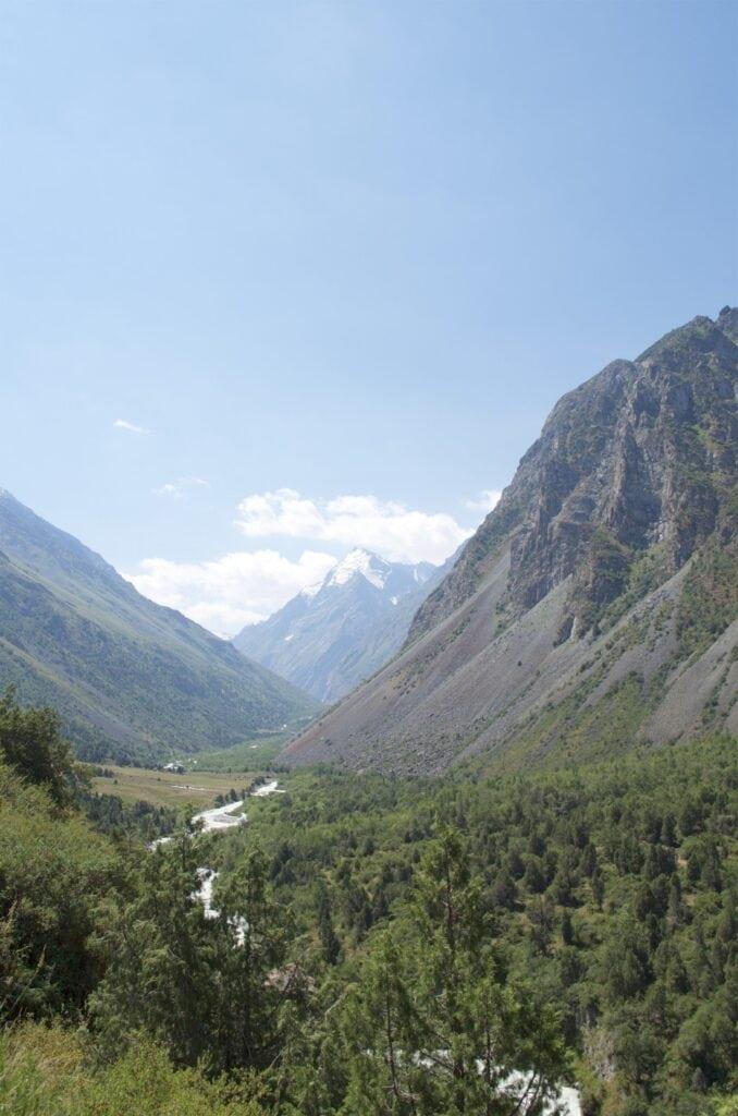 Alamedin Schlucht Kirgisistan