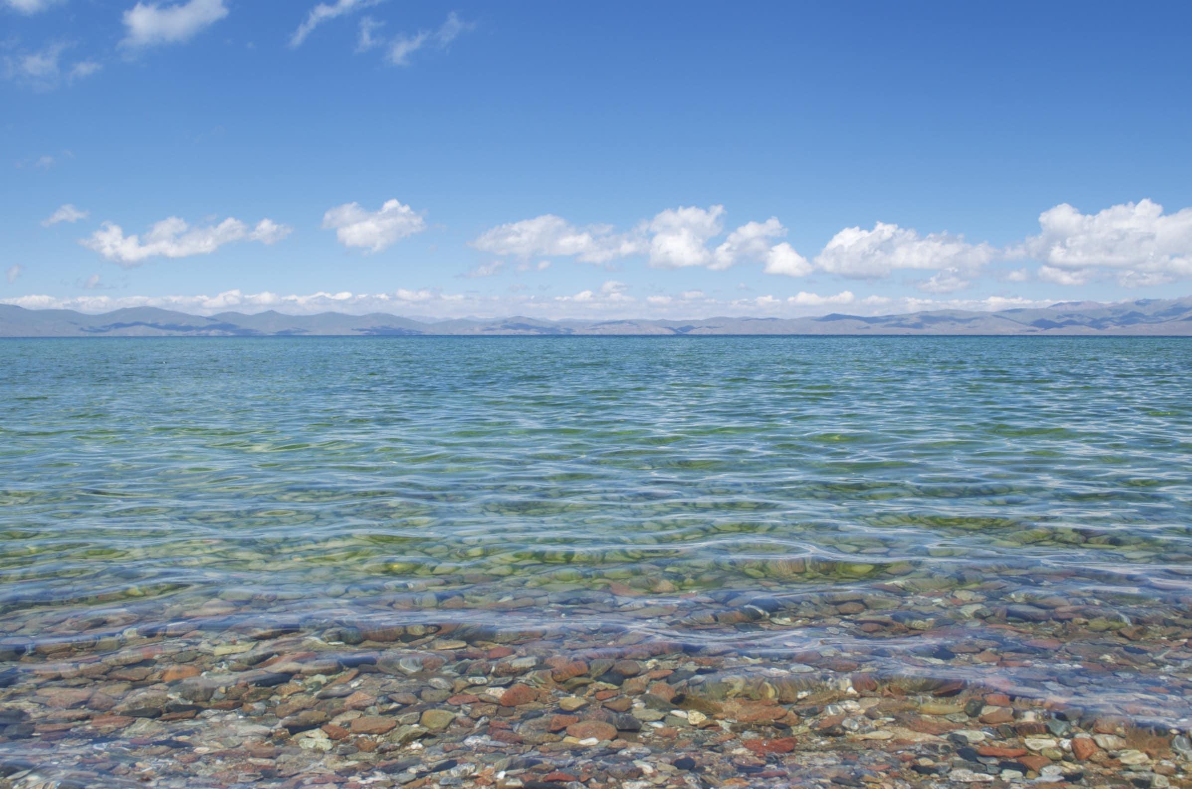 kristallklares Wasser am Songköl