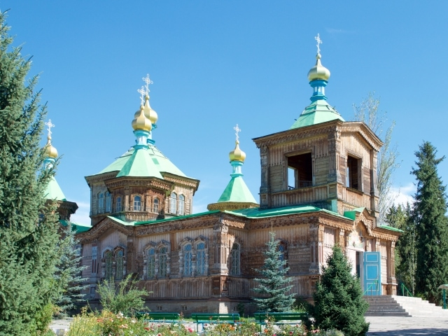 russisch-orthodoxe Kathedrale Karakol