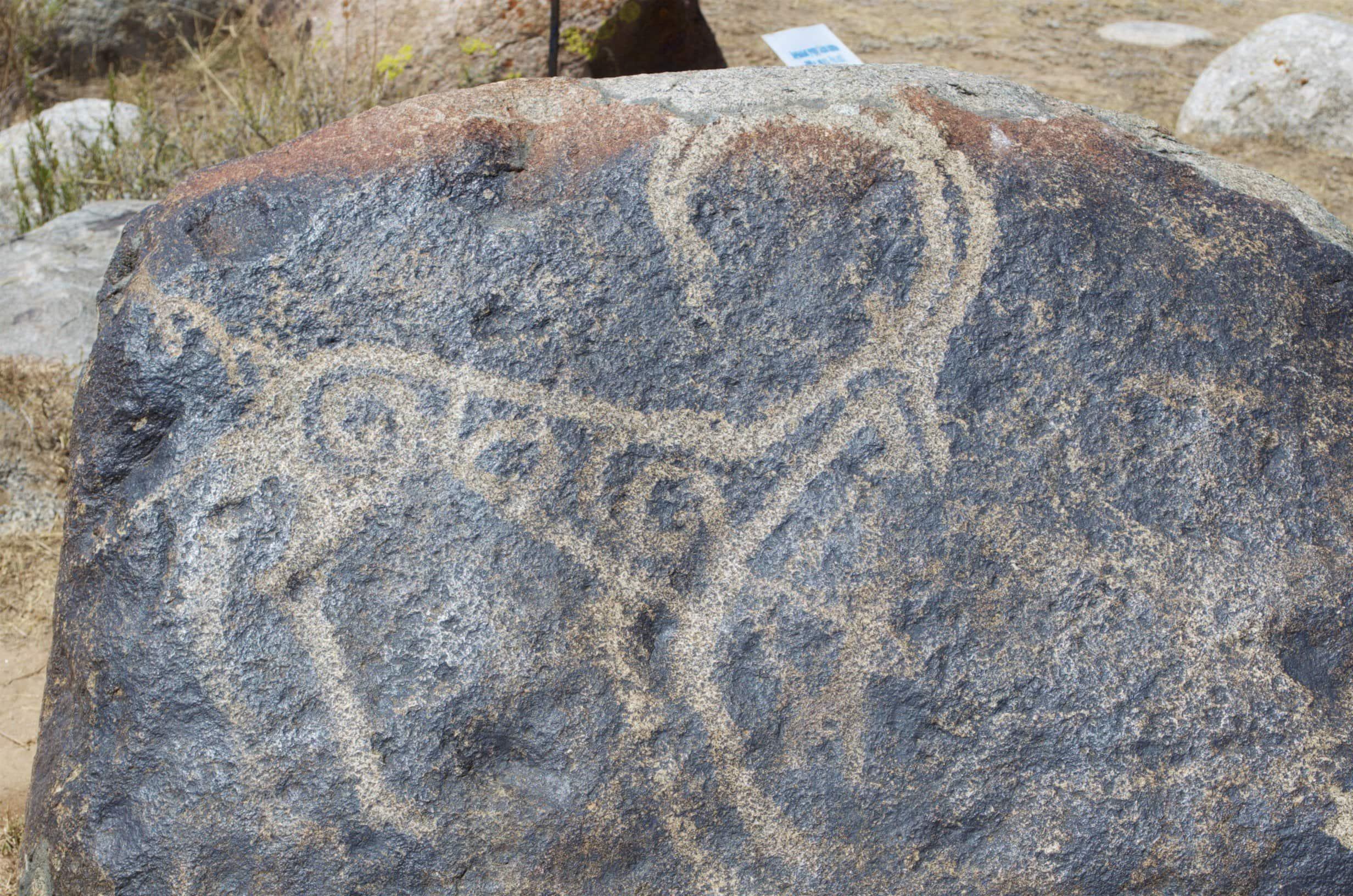 Kirgisistan Petroglyphen