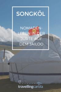 Songköl, Nomadenleben in der Jurte auf dem Jailoo