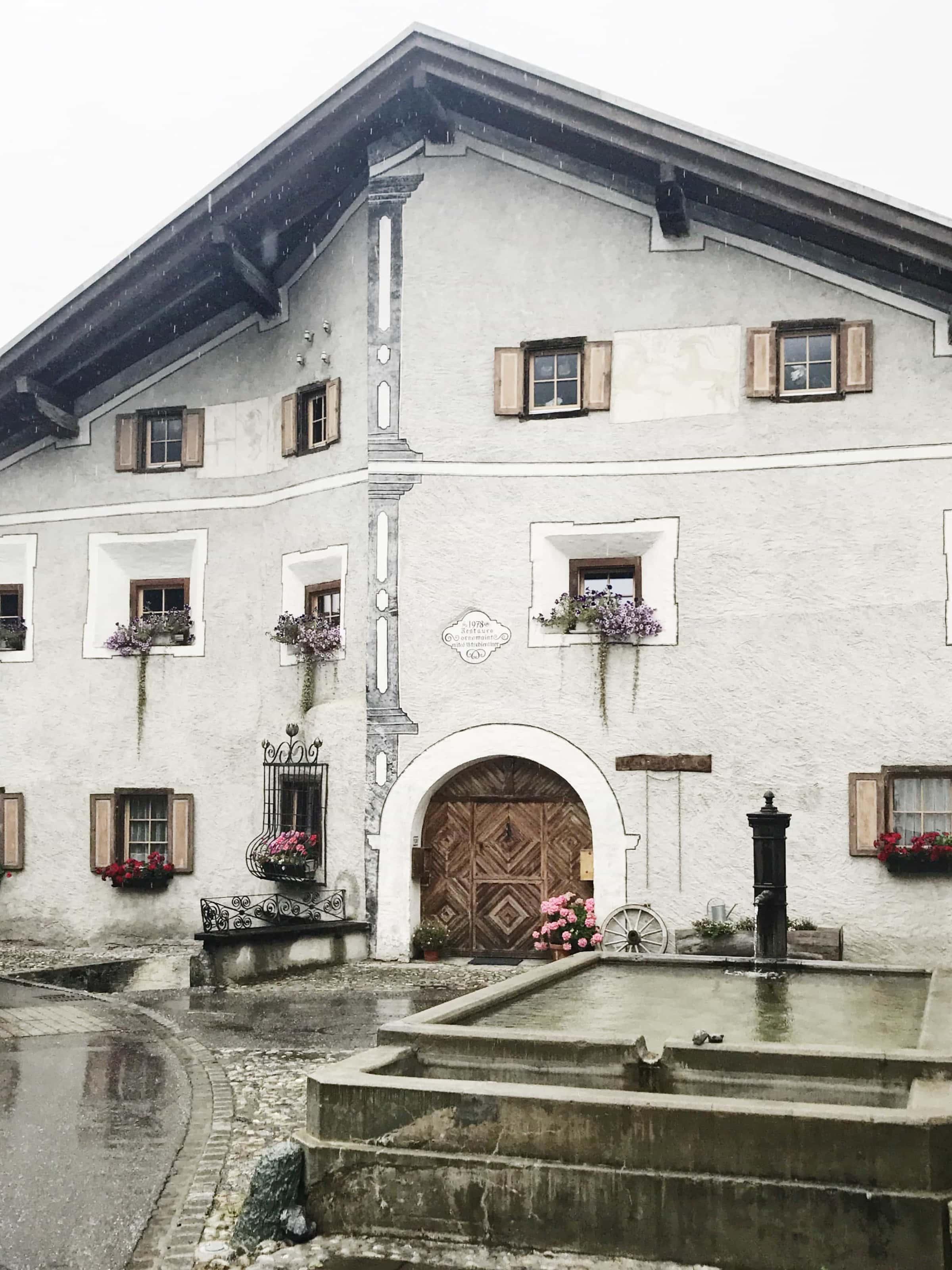 Haus in Bergün
