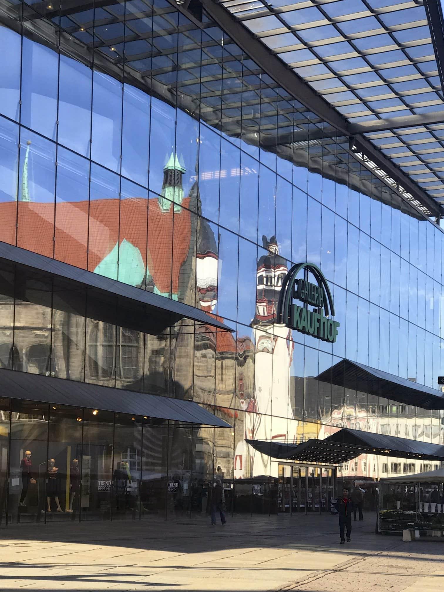 modernes Zentrum von Chemnitz