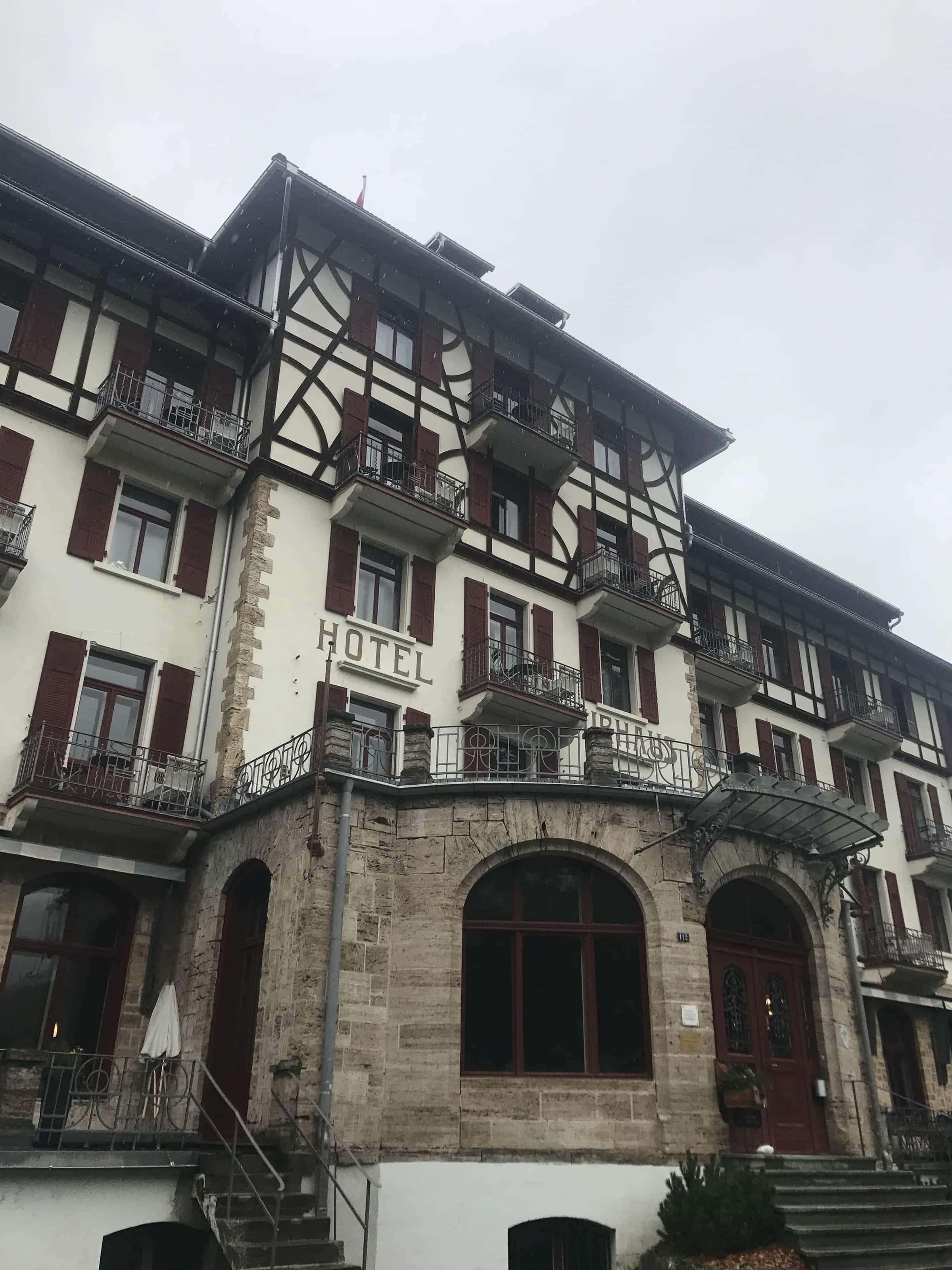 Hotel Kurhaus Bergün