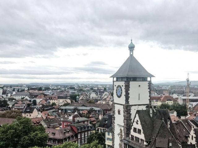 Schlossberg Freiburg und Schwabentor
