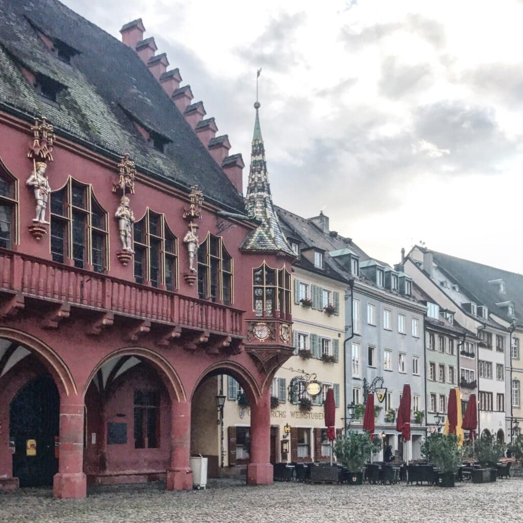 Historisches Kaufhaus am Münsterplatz