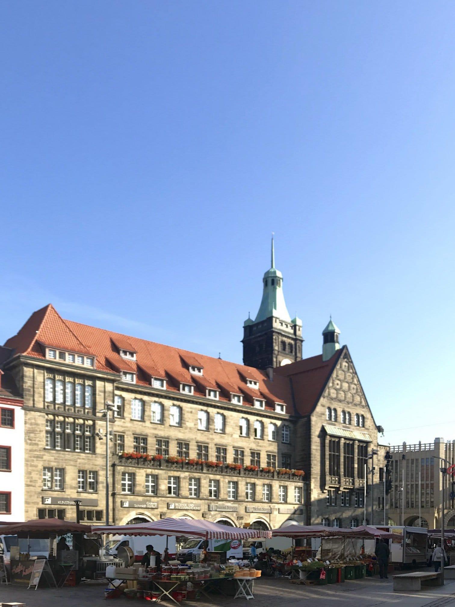 Neues Rathaus von Chemnitz