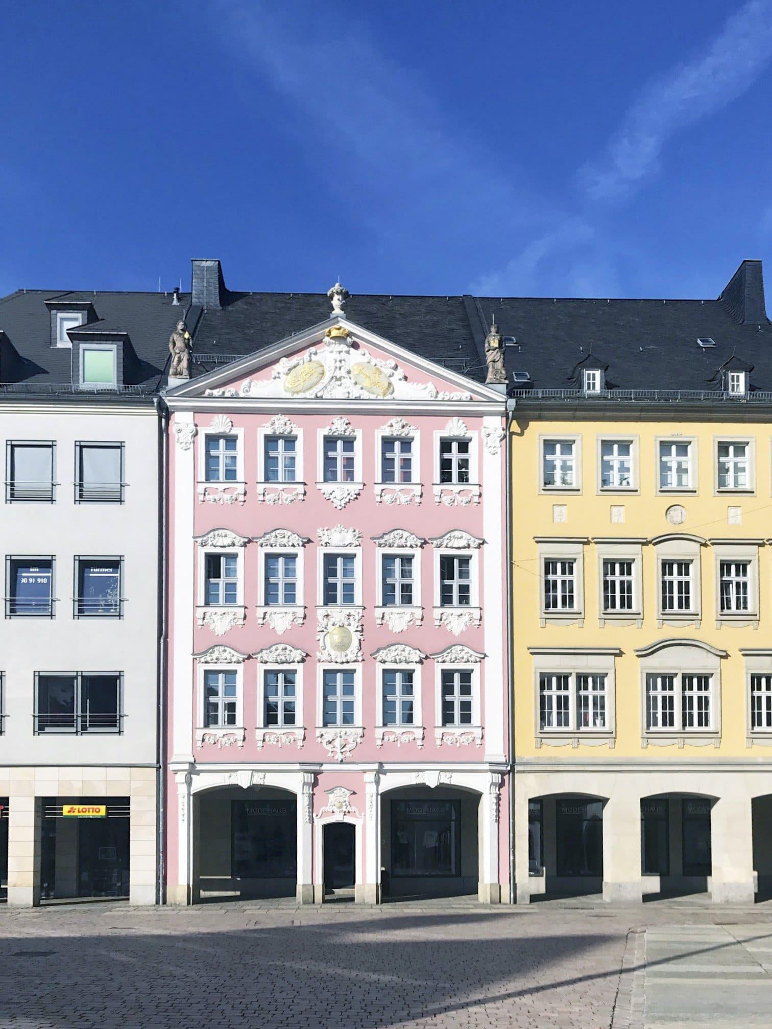 barocke Fassaden in Chemnitz