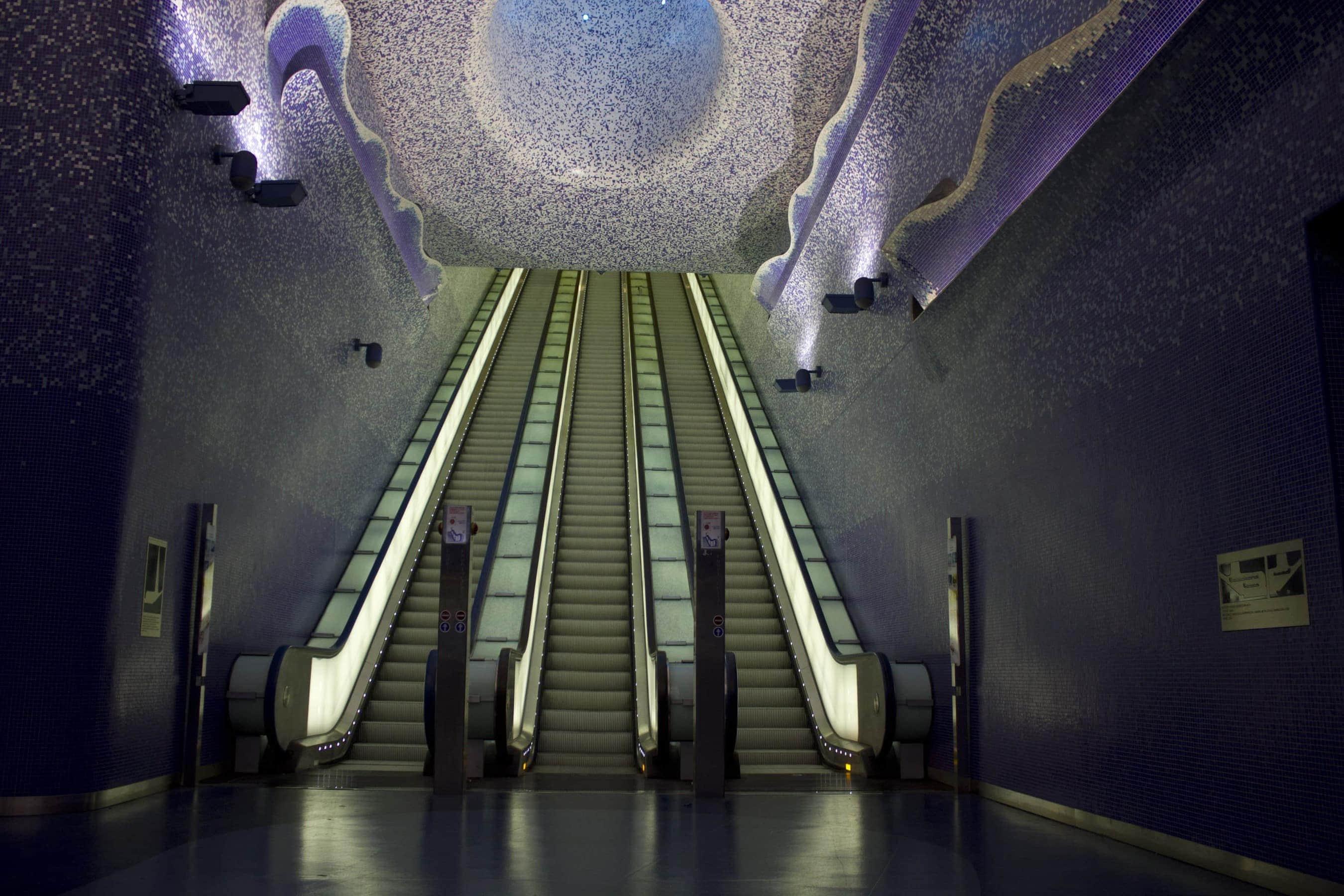 Station Toledo in Neapel