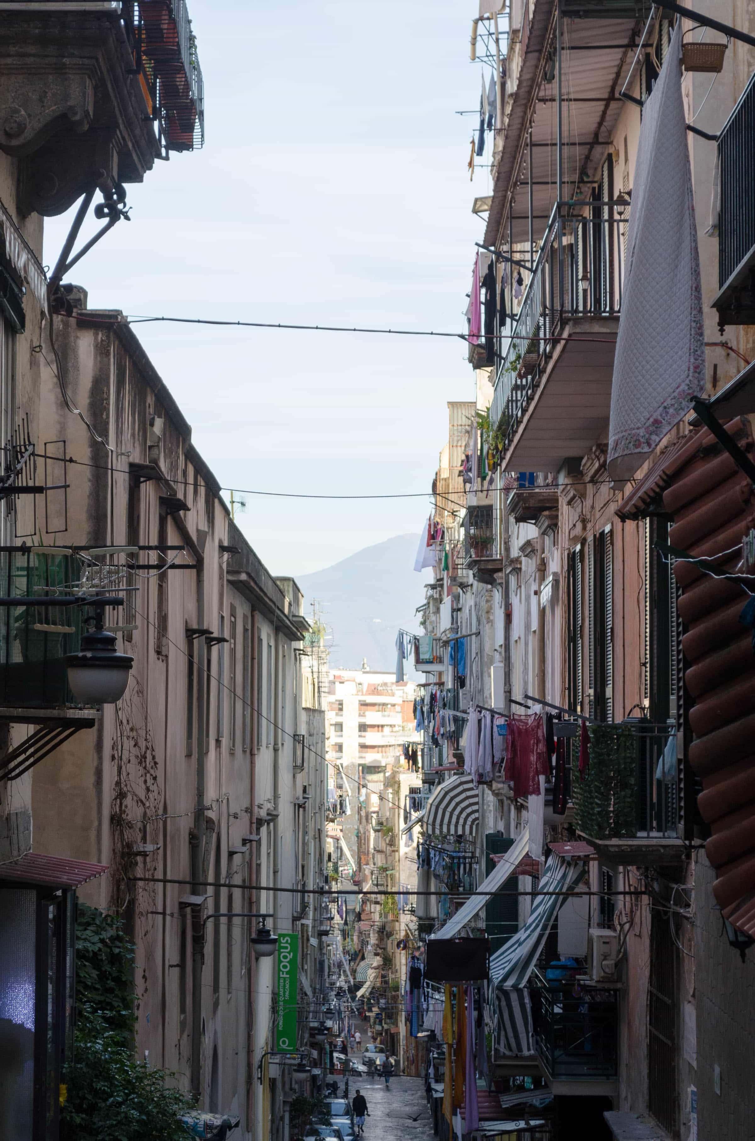 Gassen in Neapel