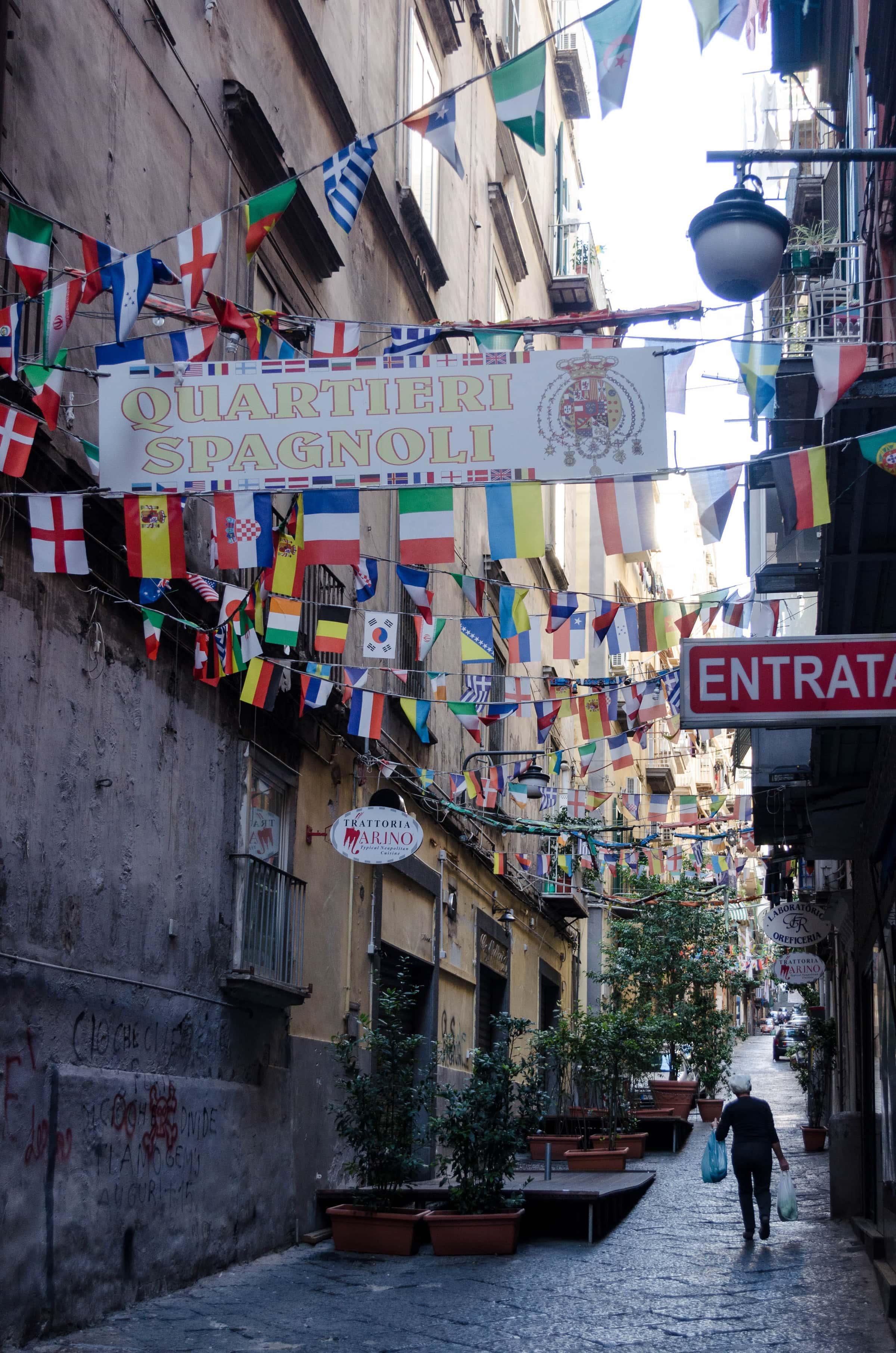 Quartieri Spagnoli in Neapel